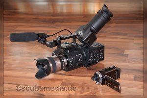 Pro- und Consumer Kamera