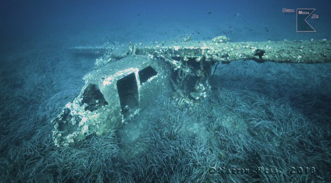 Tauchen auf Elba – Flugzeugwrack I-BADE